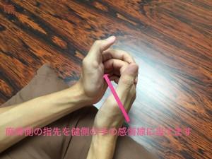 脳卒中手指運動①002